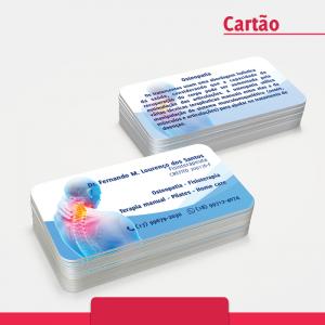 Cartão de visita Osteopatia