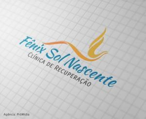 Logo Fênix Sol Nascente